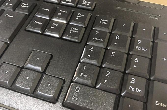 ノート パソコン テンキー 使え ない